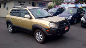 2005 Hyundai Tucson V6 SUV, ONLY $ 3999 / ON SALE