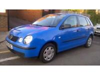 2003 Volkswagen Polo 1.2 S 5dr (a/c)
