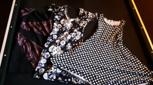 3 dresses size small to xs