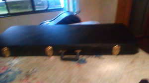 Guitar,new case, cord, stand, strings, picks, strap