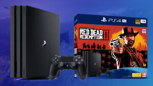 PS4 Pro + Kingdom Hearts 3 + Red Dead Redemption