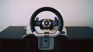 Xbox 360 racing wheel / Volant de course