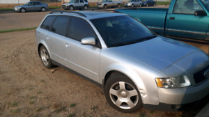 PRICE DROPPED 2004 Audi a4 1.8 turbo front wheel drive