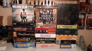 New Sealed Board Games Walking Dead Star Wars Trivia and MORE