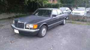 Excellent winter car 89 Mercedes Benz runs well 800$ Firm