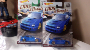 Hot wheels Cars and Donuts Subaru Impreza WRX STI