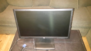 HP Office Grade WLED Backlit  23 inch Monitor