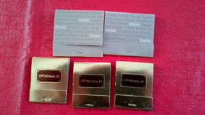 Matchbook Covers-CN/CP Hotels Kitchener / Waterloo Kitchener Area image 1