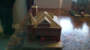 Fire Houses Danbury Mint rare collection complete 8 fire houses London Ontario image 6