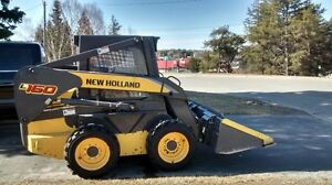New Holland skidsteer