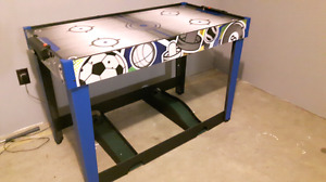 Games Table with Air Hockey