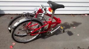 Folding bike for Rv traveler. Very good condition.