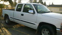 2000 GMC Sierra 1500 white Coupe (2 door)