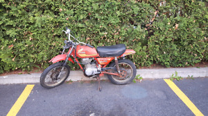 Project moto honda xl 75 1977