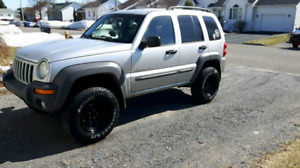 Lifted Jeep liberty Sport 2002