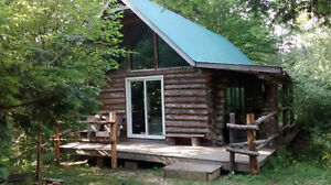 Log Chalets in Pictou County, book now for Hunting or Vacations!