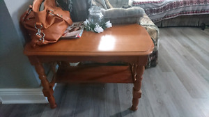 Coffee table and ends