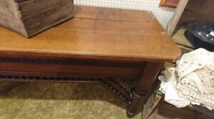 Antique circa 1800's store counter amazing 10' long Hard to find London Ontario image 2