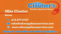 Mike Cloutier's Reliable Appliance Repair