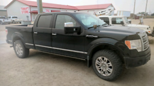 2009 F-150 Platinum  $15,500 or at least a real offer.