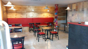 RESTAURANT UPHOLSTERY , BOOTHS , BENCHES AND CHAIRS