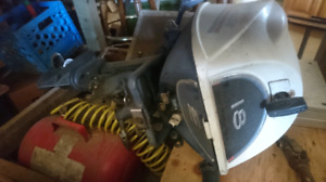 18hp evinrude fast twin outboard