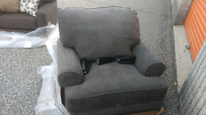 Grey Chair .... right out of tbe package.