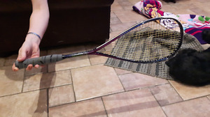 Black knight squash racquet