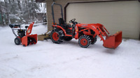Snow removal  in Lakeland Area