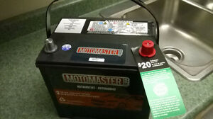 brand new car battery (Motomaster) for Nissan Altima