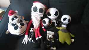 Tons of nightmare before Christmas plush