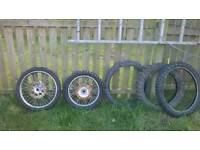 Off road tyre's.