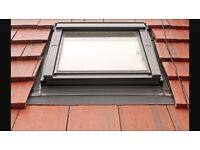 Any size Velux roof window supplied and fitted £450