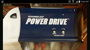 Chamberlain power drive garage door opener