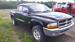 Essieux arr dodge dakota 4.7l 4x4 2003
