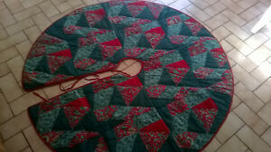 Large Christmas Tree Skirt 52 Inches in Diameter