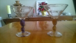 Collector item Martini Glasses-Hand Made