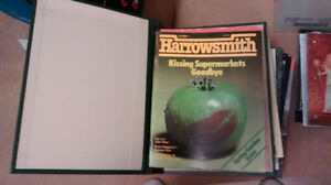 Harrowsmith Magazines #1 to 80