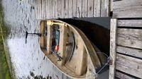 Camo 12' Aluminum Boat trade for 14' to 16' alumnum