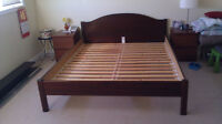 IKEA queen bed frame, good condition
