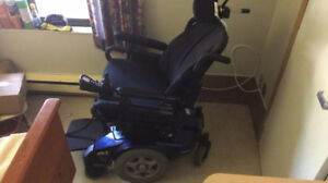 Electric wheelchair Invacare with display controller Joystick