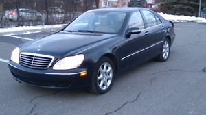 Mercedes S 430 4Matic very low/bas kilometres