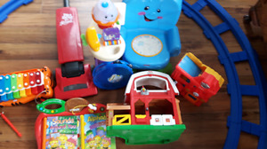 Well loved but still lots 9f life left toddler toys