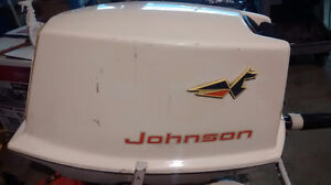 1963 10 HP Johnson outboard