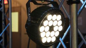 Solaris SMART 180 RGBW LED Par with Warm White - 16 new units