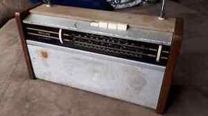Vintage Philips All Transistor portable shortwave radio.  Tested