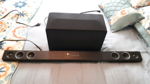 LG SH3B sound bar with wireless subwoofer
