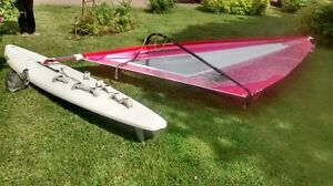 WINDSURFER - 2 boards, 3 sails.  all parts incl.