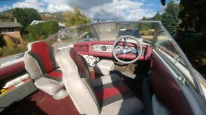 Vintage 1974-79 fiberform monterey mercruiser 120/140 hp inboard