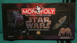 STAR WARS MONOPOLY - $35.00